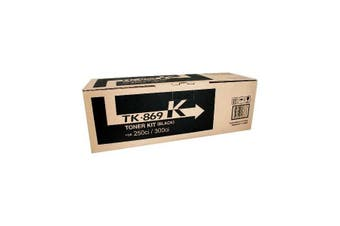 Kyocera TK-869K Toner Cartridge Original Black