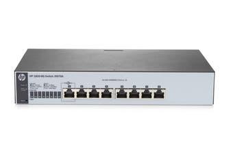 Hewlett Packard Enterprise 1820-8G Managed L2 Gigabit Ethernet (10/100/1000) Grey 1U Switch [J9979A]