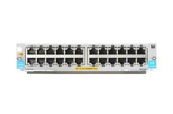 Hewlett Packard Enterprise 24-Port 10/100/1000BASE-T PoE+ MACsec v3 zl2 Module Network Switch module Gigabit Ethernet [J9986A]