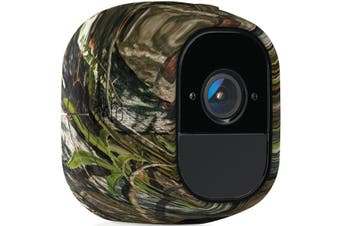 Arlo VMA4200 Pro Replaceable UV Resistant Silicon Skin (3Pack) - Camouflage Green [VMA4200-10000S]