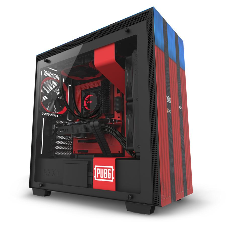 NZXT H700 PUBG Limited Edition Mid-Tower ATX Case [CA-H700B-PG]