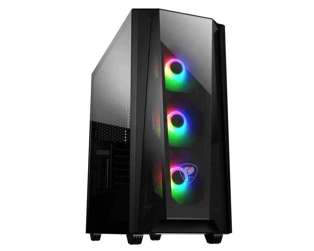 Cougar MX660-T RGB-L Mid-Tower With Iconic DNA Case [MX660-T-RGB-L]