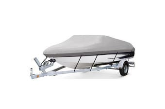 Kaiser Boating 20-22ft 6.1-6.7m Runabout Bass Boat Cover - Premium Heavy Duty 600D Marine Grade Oxford Polyester, Trailerable, Waterproof, UV Resistant