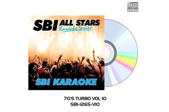 70's Turbo Pack Vol 10 - CD+G - SBI Karaoke All Stars