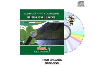 Irish Ballads - Sunfly Karaoke - CD+G