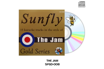 The Jam - Sunfly Karaoke - CD+G
