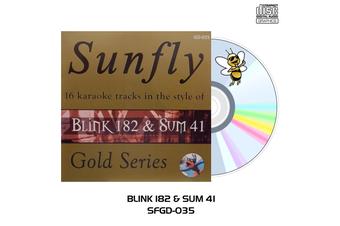 Blink 182 & Sum 41 - Sunfly Karaoke - CD+G