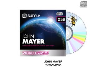 John Mayer - Sunfly Karaoke World Stars - CD+G