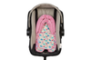 Keep Me Cosy® Pram & Car Seat Baby Head Support - Flamingo
