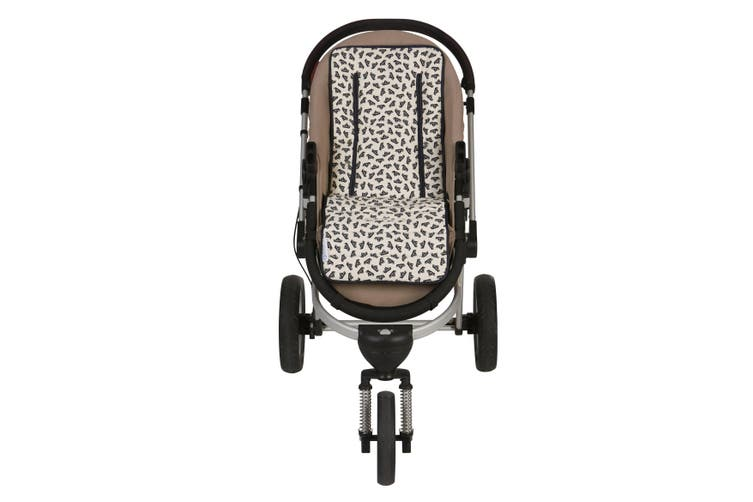 Keep Me Cosy® Universal Pram Liner Set + Harness Covers - Navy Boat
