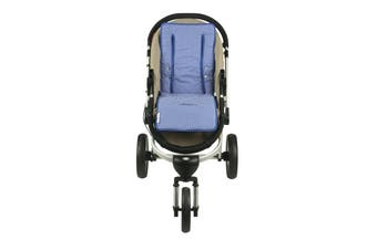 Keep Me Cosy® Universal Pram Liner - Blue Spot