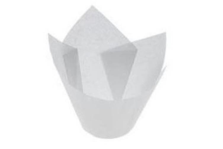 White Parchment Muffin Papers Suit Muffin6 - 55mm base - 60mm - 90mm - 110ml - Patty Pan, Bakeware