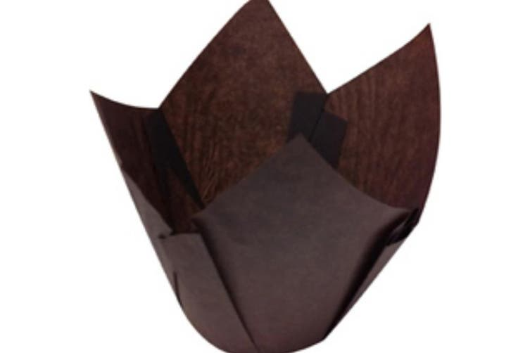 Brown Parchment Muffin Papers Suit Muffin6 - 55mm base - 65mm - 85mm - Patty Pan, Bakeware