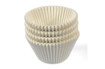 White Paper Patty Pans - 28mm Base - 19mm - Bakeware, Cookware