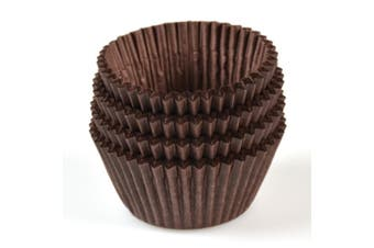 Brown Paper Patty Pans - 37mm Base - 26mm - Bakeware, Cookware