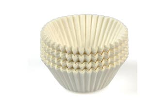 White Paper Patty Pans - 49mm Base - 35mm - Bakeware, Cookware