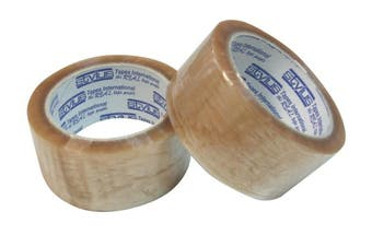Clear Plastic Packing Tape - 48mm - Officeware, Stationery