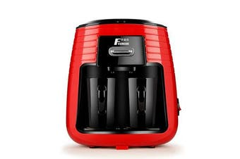 MD-235 0.25L 450W Home Office Coffee Machine Tea Filter Maker Machine with Ceramic Cups