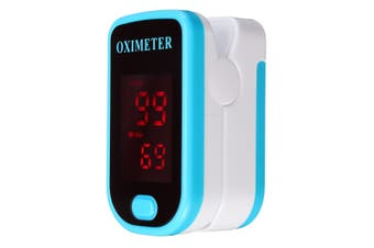 Portable Finger Tip Pulse Oximeter Blood Oxygen Meter SpO2 Heart Rate Monitor