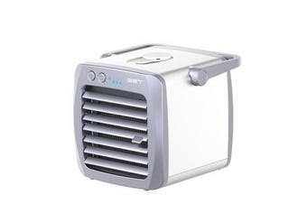 3 in 1 Air Cooler Portable Mini Air Conditioner Fan Humidifier Portable Personal Space Cooler ; Purifier for Room Office Desktop