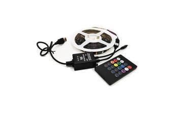 USB Music Sensor Intelligent Control TV Background LED Light Strip For Smart Home