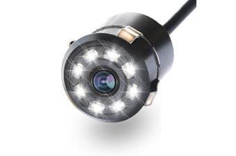 Waterproof 8 LED HD CCD Car Backup Car Rear View Camera Night Vision