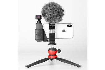 OP-1 Holder ST-02 Phone Clip Clamp LZ-20 Tripod with 360 Degree Rotation Ballhead for DJI OSMO Pocket Gimbal Camera