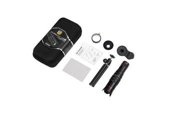 22X Universal Smartphone HD Zoom Camera Lens Telephoto Cell Phone Telescope with Tripod Kit Hunting Fixed Focus