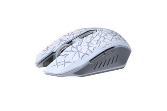 M6 2400dpi Rechargeable 2.4GHz Wireless Backlit Optical Mouse Silent Mouse