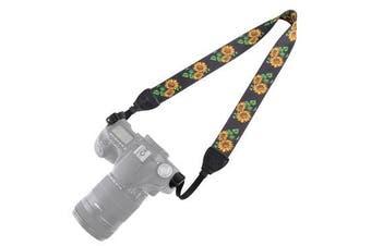 PU6009C Retro Ethnic Style Multi-color Series Shoulder Neck Strap for SLR DSLR Camera
