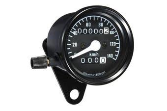 Universal Motorcycle Mileage Meter Speedometer Gauge