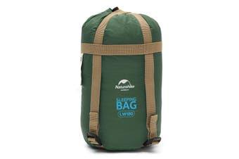 NH15S003-D Ultralight Envelope Single Sleeping Bag Waterproof Portable Camping Blanket GREEN