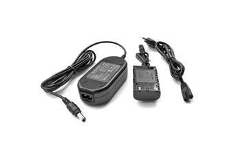 External Power Supply Adapter for Canon EOS 5D Mark II III 5D2 5D3 6D 7D 60D DSLR Cameras
