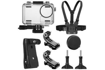 40M Waterproof Protective Case Shell Backpack Clip Chest Belt Strap Mount Harness for DJI OSMO Action Sports Camera