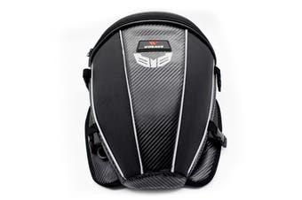 Motorcycle Tank Rear Seat Bag Waterproof Side Bag Multi-function Black