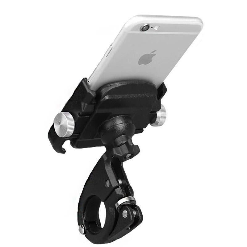 Aluminum Bike Phone Holder with 360/°Rotation Adjustable Handlebar Phone Holder Compatible with iPhone XS XR 8 Plus,Compatible with Samsung S9//S8 Gub Bicycle /& Motorcycle Phone Mount PLUS6 BLUE
