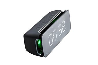 T68 Wireless bluetooth Speaker Dual Driver Alarm Clock LED Display Stereo Soundbar Subwoofer with Mic