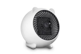 Heater Office Mini Desktop Small Household Air Heater Eletrical Air Warmer Equipment WHITE COLOR