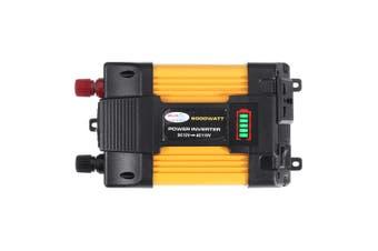 6000W Peak Power Inverter 12V-220V Modified Sine Wave Car Converter with LED Screen Dual USB 8 Safety Protection