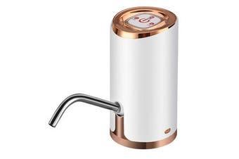 Auto USB Portable Wireless Electric Pump Dispenser Drinking Switch Spigot Gallon Water Bottle GOLD COLOR