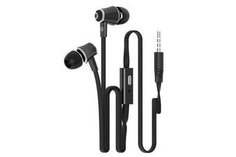 JM21 In-ear 3.5mm Plug Bass Wired Control Earphone With Mic for Xiaomi Samsung iPhone