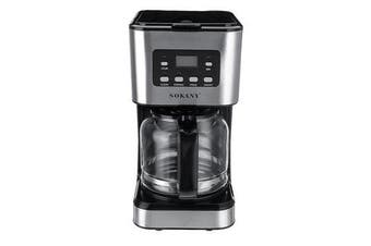 220V Coffee Maker Semi-Automatic Espresso Making Machine Stainless Steel