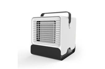 600m³/h Portable Air Conditioner Fan 3 in 1 Personal Space Air Cooler Humidifier Purifier Brushless Desktop Cooling Fan Personal Table Fan WHITE COLOR