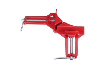 90 Degree Right Angle Picture Frame Corner Clamp Holder Woodworking Hand Kit Red