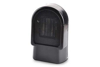500W Personal Space Heater Mini Electric Desk Heater Fan Heater For Home Office Floor or Desktop
