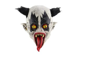 Fashion Halloween Scary Latex Mask Full Face Costume Party Creepy Horror Cosplay
