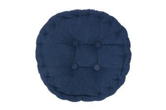 Round Corduroy Chair Pad Cushion Cover Thicker Patio Car Office Seat Sofa Tatami Mat