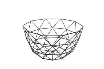 Geometric Metal Wire Decoration Storage Display Basket Display Vegetable Fruit Bowl Holder