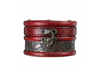 Retro Vintage Wooden Treasure Chest Storage Box Case Jewelry Gift Organizer