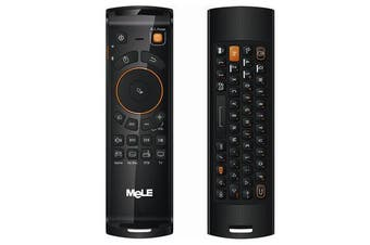F10 Deluxe Air Mouse Wireless Keyboard Remote Control With IR Learning Function For Android TV